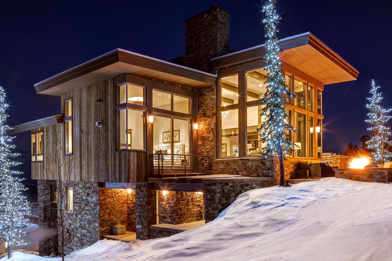 Exterior of ski in ski out Park City vacation rental at Stein Eriksen Residences, Deer Valley, Utah
